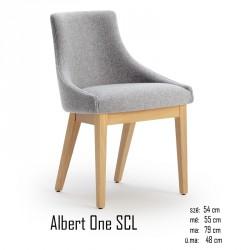 025 Albert One SCL szék 03 Favázas étkezőszékek Olasz modern stílus