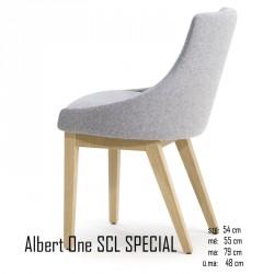 025 Albert One SCL SPECIAL szék 03 Favázas étkezőszékek Olasz modern stílus