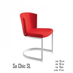 102 So Chic SL tűzálló szék 03 Modern stílusok Olasz modern stílus