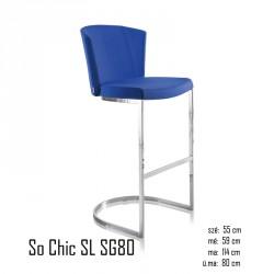 102 So Chic SL SG80 tűzálló bárszék 03 Modern stílusok Olasz modern stílus