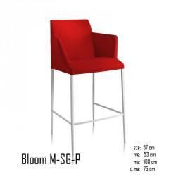 102 Bloom M-SG-P tűzálló bárszék 03 Modern stílusok Olasz modern stílus