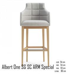 025 Albert One SG SC ARM Special bárszék 04 Olasz bárszékek Olasz modern stílus