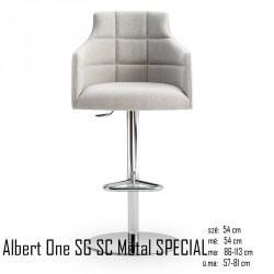 025 Albert One SG SC Metal SPECIAL bárszék 04 Olasz bárszékek Olasz modern stílus