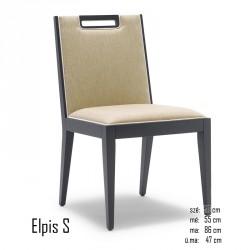 025 Elpis S szék 03 Favázas étkezőszékek Olasz modern stílus