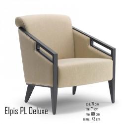 025 Elpis PL Deluxe karosszék 05 Favázas karosszékek Olasz modern stílus