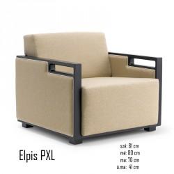 025 Elpis PXL fotel  05 Favázas karosszékek Olasz modern stílus