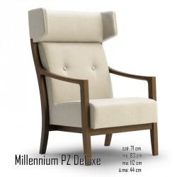025 Millennium PZ Deluxe fotel 05 Favázas karosszékek Olasz modern stílus