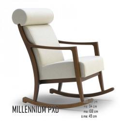 025 Millennium PXD hintaszék 05 Favázas karosszékek Olasz modern stílus