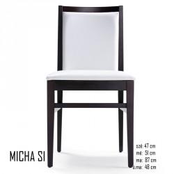 025 Micha SI szék 03 Favázas étkezőszékek Olasz modern stílus