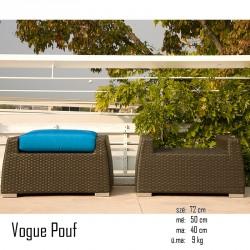 026 Vogue puff 10 Székek Kert, wellness 026