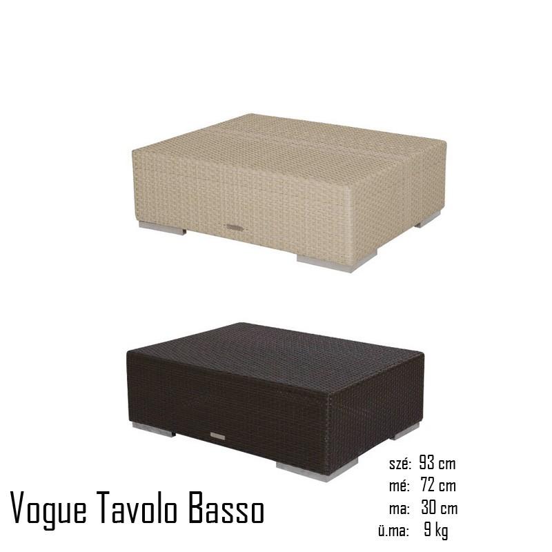 026 Vogue dohányzóasztal