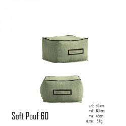 026 Soft szögletes kicsi puff 10 Székek Kert, wellness 026