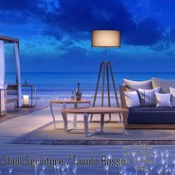 026 Shell dohányzóasztal