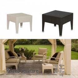 026 Relaxia lerakóasztal 10 Asztalok Kert, wellness 026