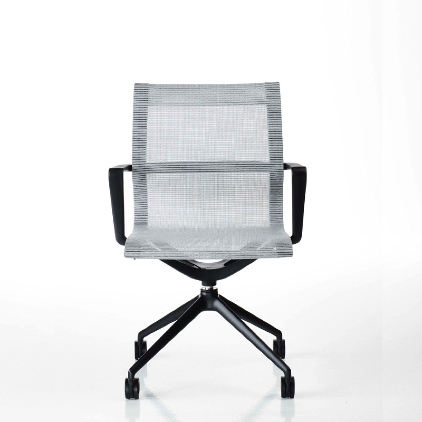 Liberty fix magasságú irodai szék hálós fix fekete